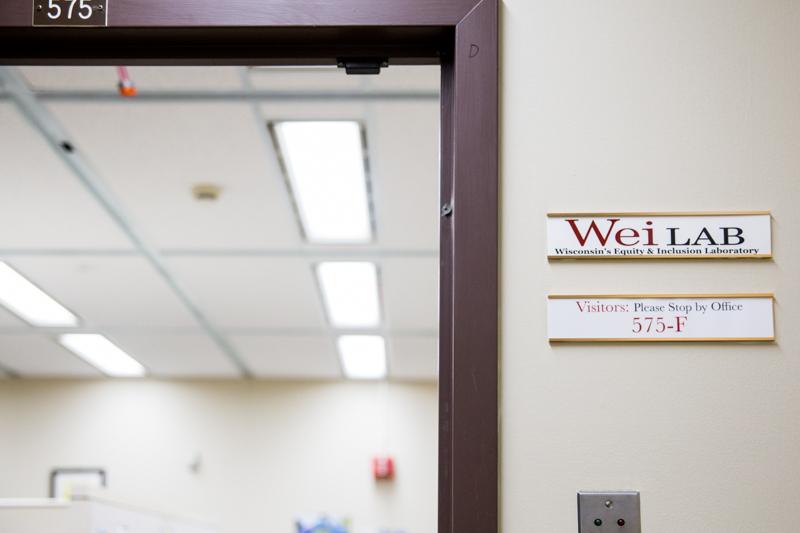 WEI Office Sign